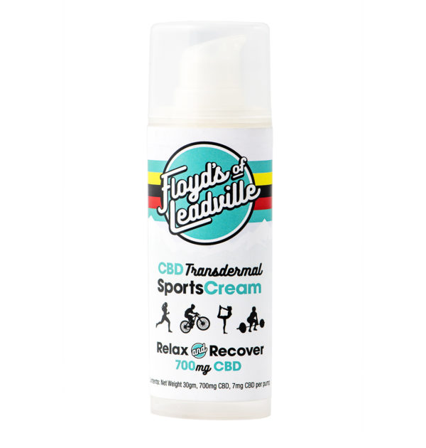 CBD Transdermal Sports Cream | Floyd's of Leadville