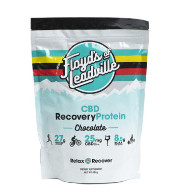 CBD Recovery Protein, Chocolate | Floyd's of Leadville