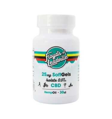 Flloyd's of Leadville CBD Isolate Softgels 25mg
