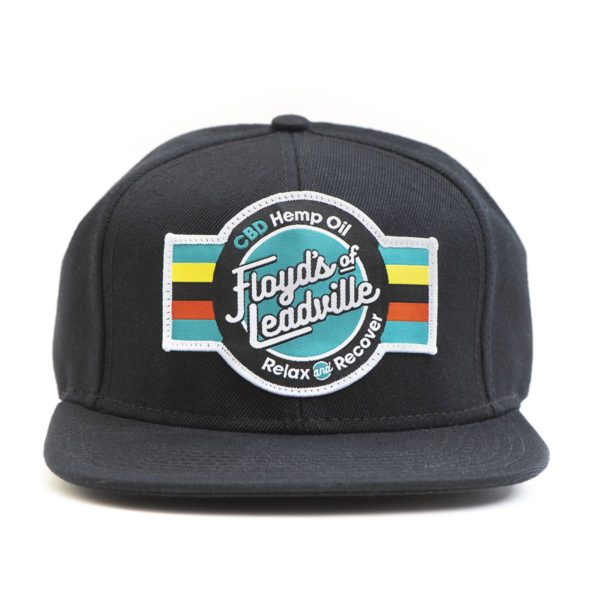 Floyd's of Leadville CBD Black Hat with Patch
