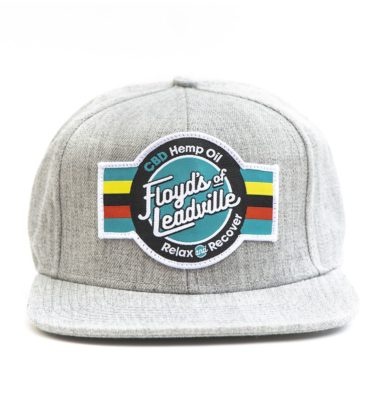 Floyd's of Leadville CBD Hat Gray with Patch