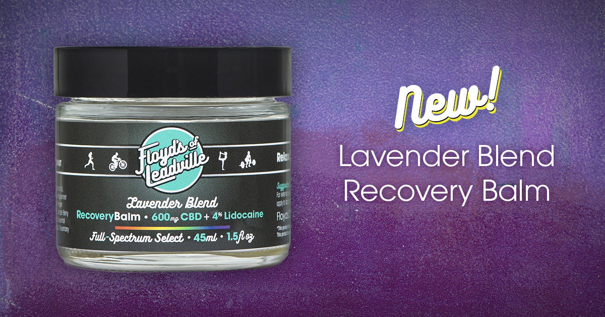 Flower Power: Floyd's New Lavender Blend Recovery Balm
