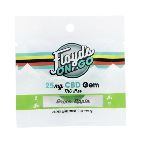 CBD Gummies Green Apple 1 Count Pack