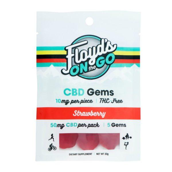 CBD Gummies Strawberry 5 Count Pack