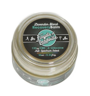 CBD Lavender Balm 133mg Label
