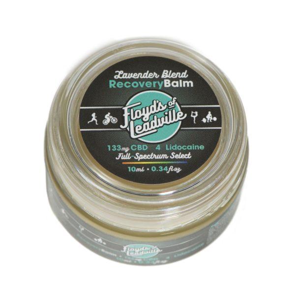 CBD Lavender Balm 133mg Label