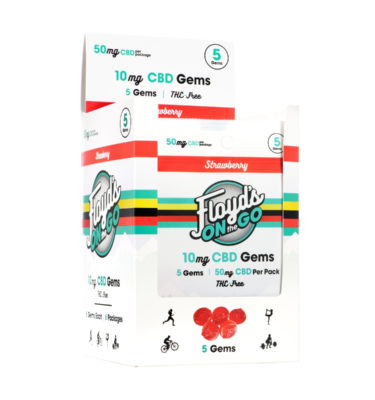 CBD Gummies 5 Count Packs, Box of 6