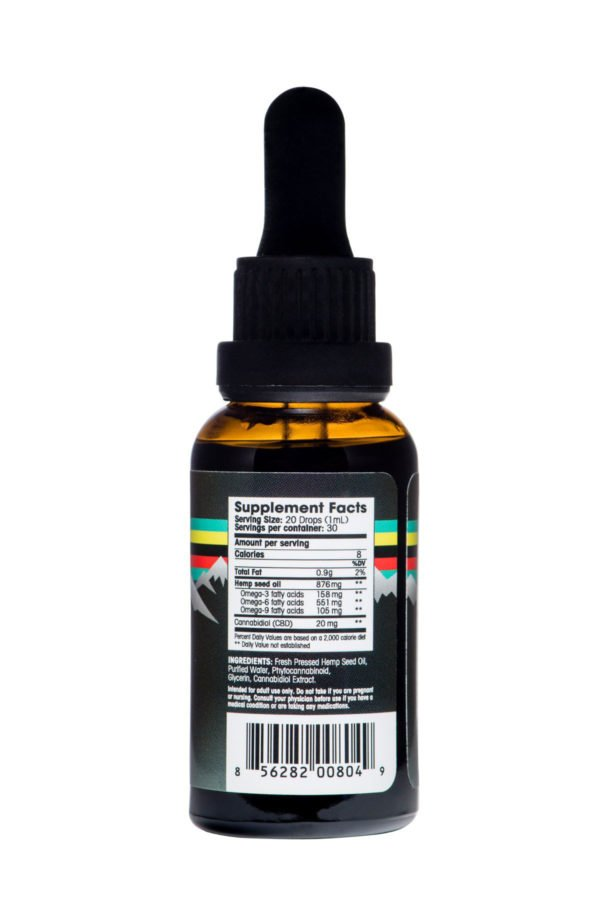 FOL CBD Tincture 600mg Ingredients