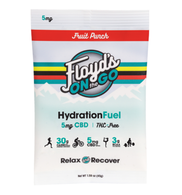 Floyd's On The Go Single Serve Fruit Punch Hydration Fuel