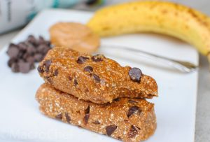 More Macro Chef Mastery: Recipe for PB Chocolate Chip Protein Energy Bars Preview Image