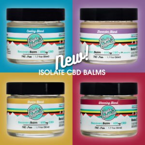 New Isolate Balms Now Available Preview Image