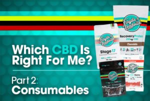 Which CBD is Right for Me? Part 2 - Consumables Preview Image